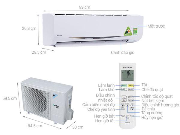Máy điều hòa tốn bao nhiêu tiền điện mỗi tháng