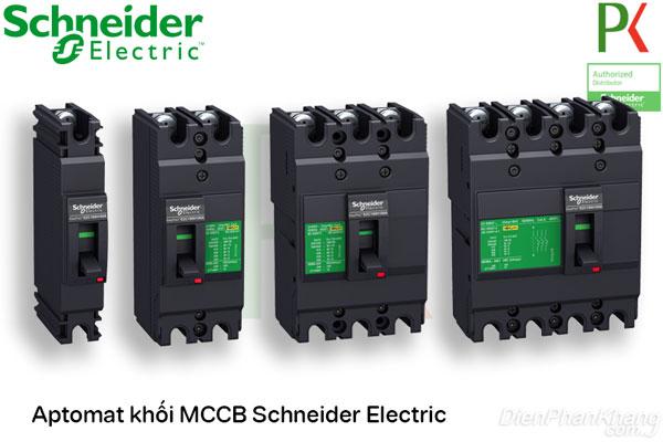 Aptomat CB khối MCCB Schneider Electric