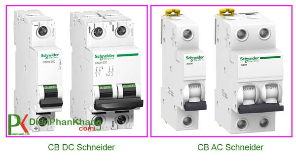 MCB điện một chiều Schneider Electric