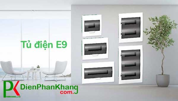 Tủ điện dân dụng E9 - sản xuất và nhập khẩu từ Nga