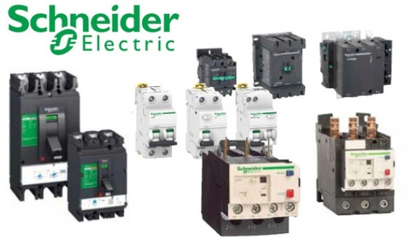 Các loại CB của hãng Schneider Electric