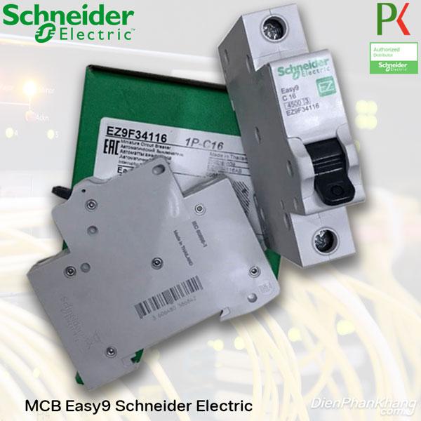 EZ9F34116 MCB EASY 9 SCHNEIDER