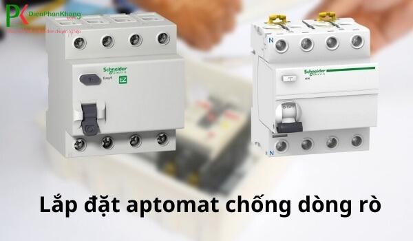 Aptomat chống dòng rò Schneider Electric